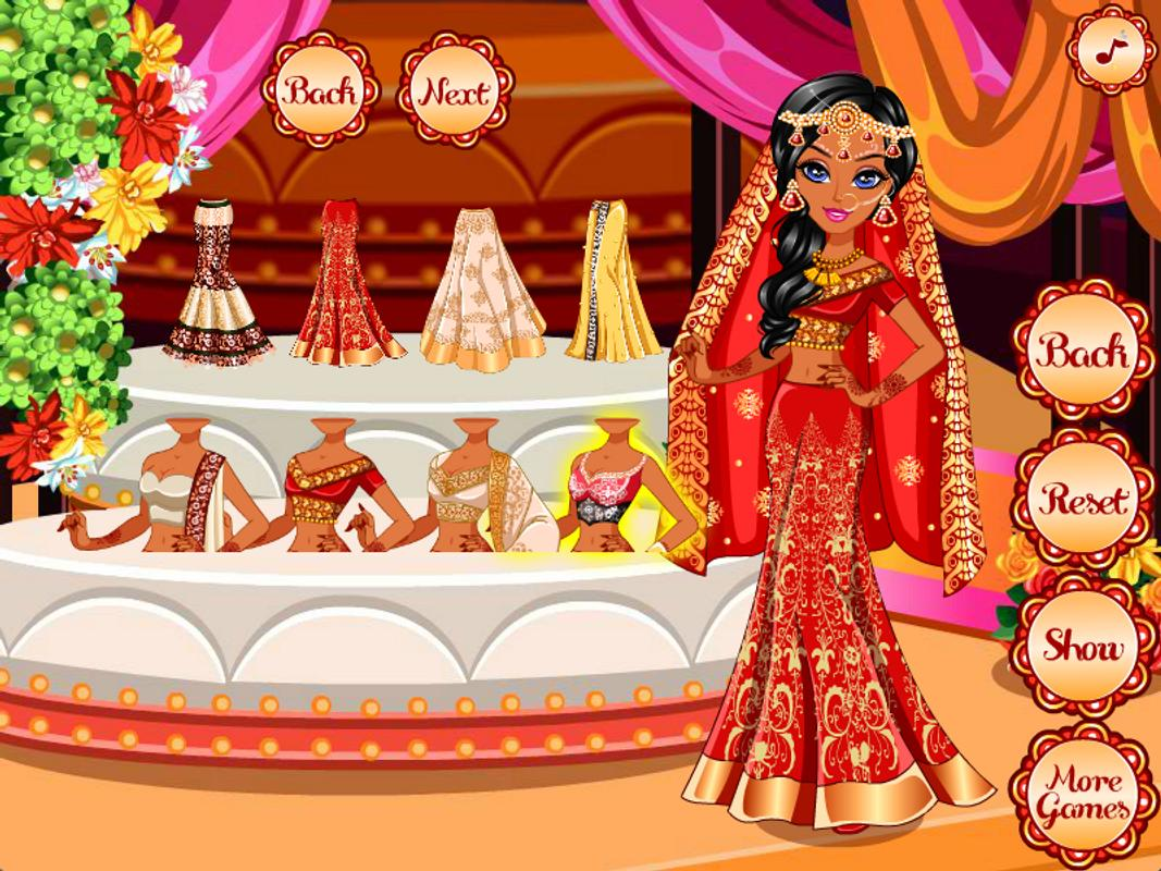 Indian Wedding Game Dress Up For Android - Apk Download-7127