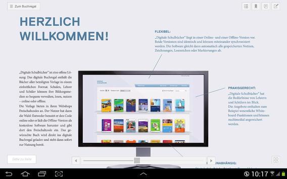 Digitale Schulbücher poster