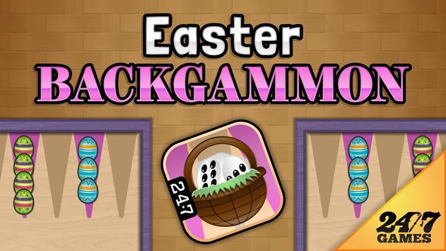 Easter Backgammon poster