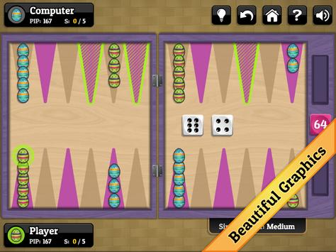 Easter Backgammon apk screenshot
