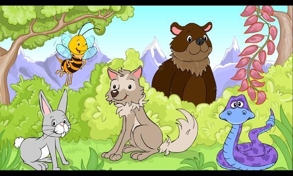 EDU Les animaux de la forêt apk screenshot