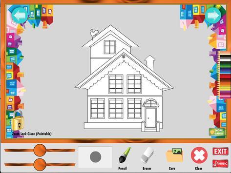 Coloring Game My Home Apk Screenshot