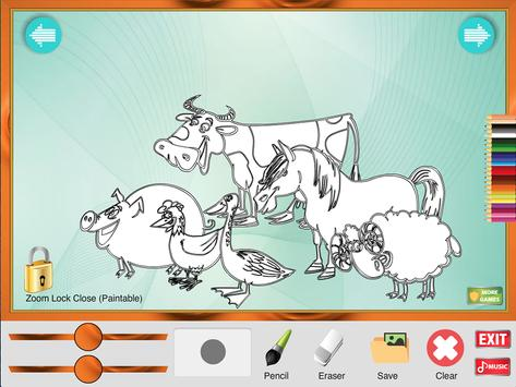 Coloring Game: Animals screenshot 4
