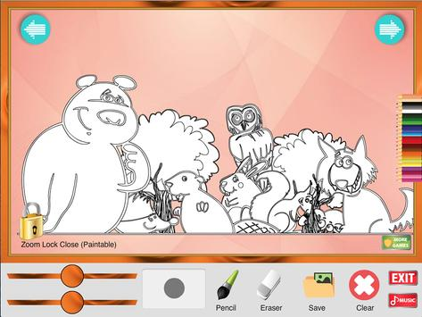 Coloring Game: Animals screenshot 2