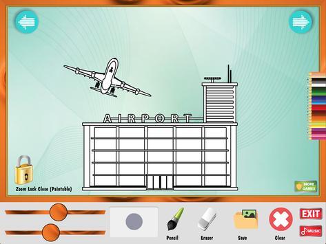 Coloring Game: Buildings apk screenshot