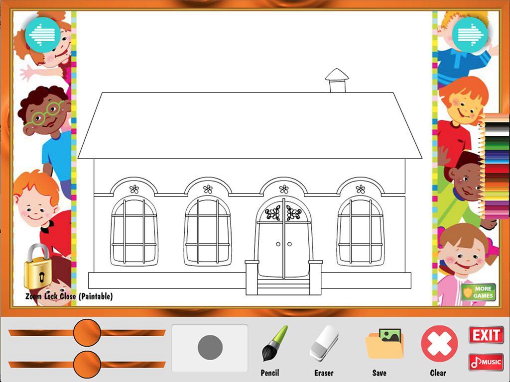 Jogo De Colorir Casa Para Android Apk Baixar