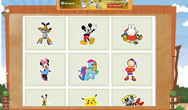Coloring Book - Cartoon screenshot 3