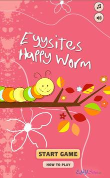 egysite Happy Worm poster