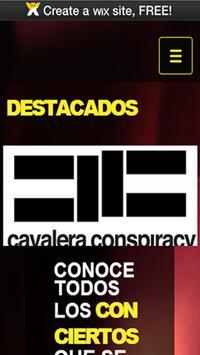 Conciertos Tocadas y Mas poster