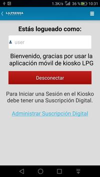 Kiosko LPG apk screenshot