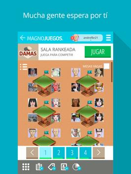 Damas MagnoJuegos apk screenshot
