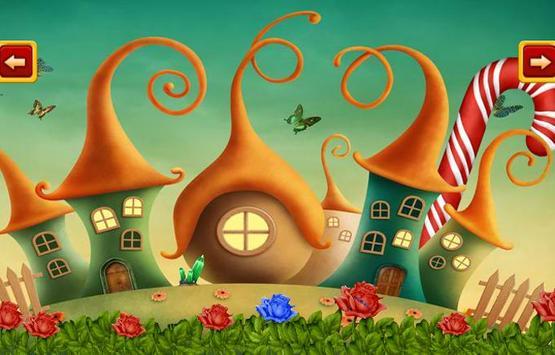 Escape game-Candyland Squirrel poster