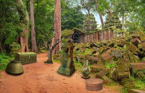 Escape Games - Cambodian Temple 2 screenshot 1