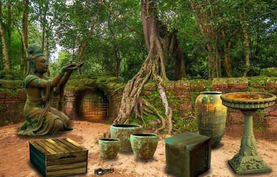 Escape Games - Cambodian Temple 2 screenshot 2