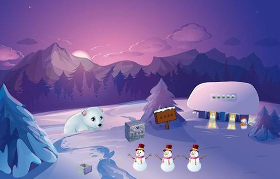 Trapped Polar Bear Escape apk screenshot