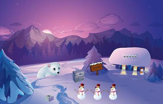 Trapped Polar Bear Escape apk screenshot