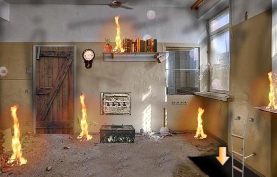 Fiery House Escape apk screenshot