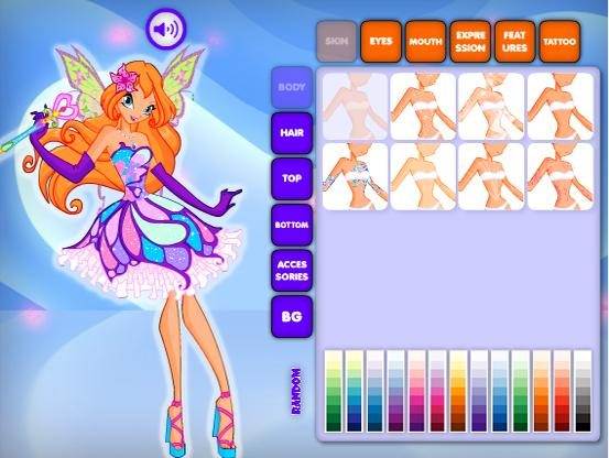 🌸 Fairy Games Winx Party Club Dress Up ❤ for Android - APK