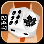 Fall Backgammon icon