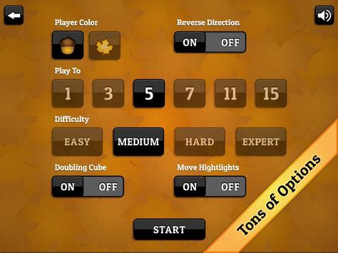 Fall Backgammon screenshot 13