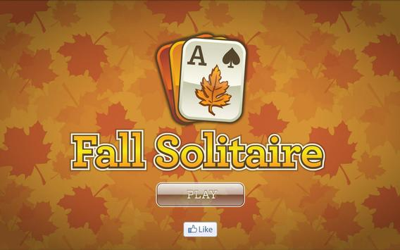 Fall Solitaire poster