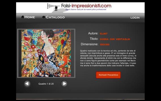 Galleria Falsi Autore (Tablet) poster