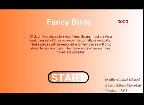 fancy birds poster