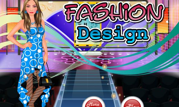 Free Fashion Designer game poster