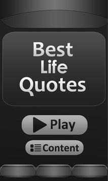 Best - Life - Quotes poster