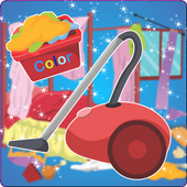 Princess Room Cleaning and Washing icon