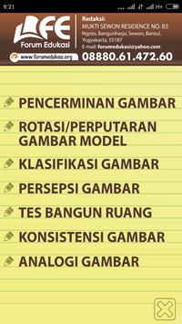 BANK SOAL PSIKOTES GAMBAR screenshot 1