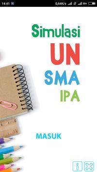 SIMULASI UN SMA IPA poster
