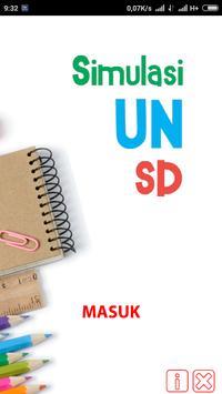 SIMULASI UN SD poster