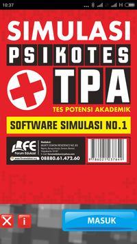 TPA + PSIKOTES poster