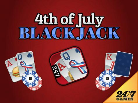 4th of July Blackjack screenshot 5