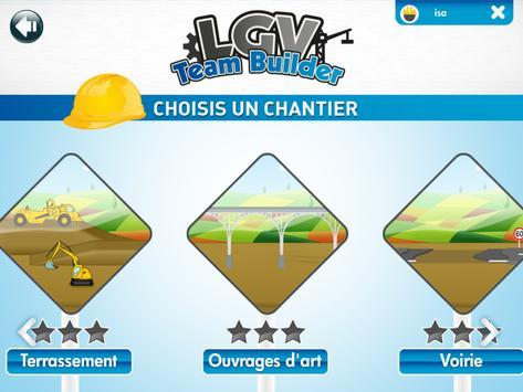 LGV Team Builder screenshot 1