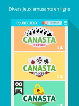 Canasta ClubDeJeux screenshot 5
