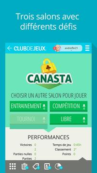 Canasta ClubDeJeux poster