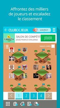 Canasta ClubDeJeux screenshot 1