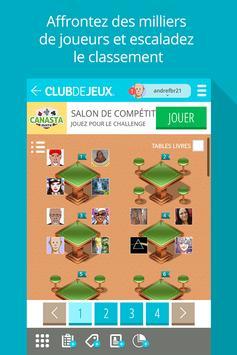 Canasta Mixte ClubDeJeux screenshot 1