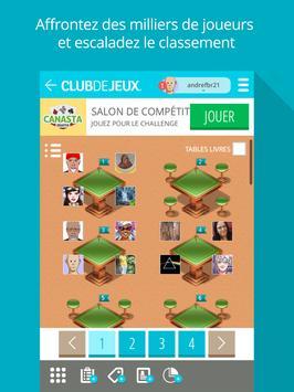 Canasta Mixte ClubDeJeux screenshot 6