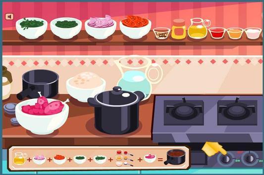 Chicken Biryani Cooking Game screenshot 5