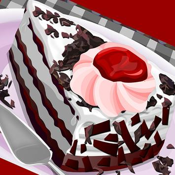 Strawberry Cake Decoration poster