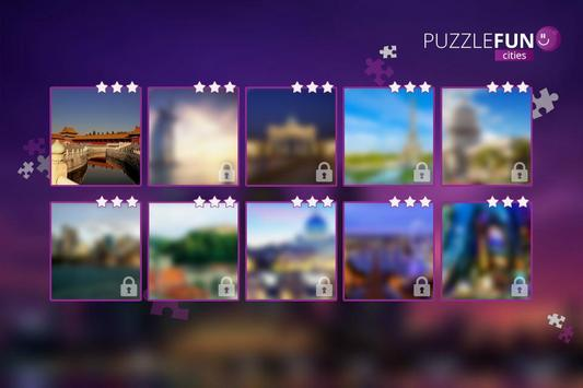 PuzzleFUN Cities poster