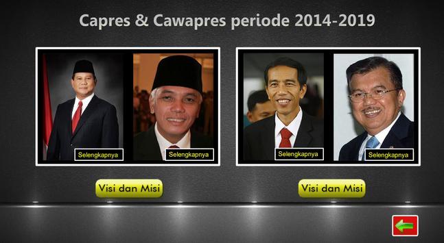 PILPRES 2014 apk screenshot