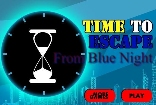 BlueNightEscape apk screenshot