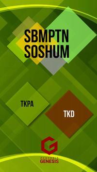 SBMPTN SOSHUM poster