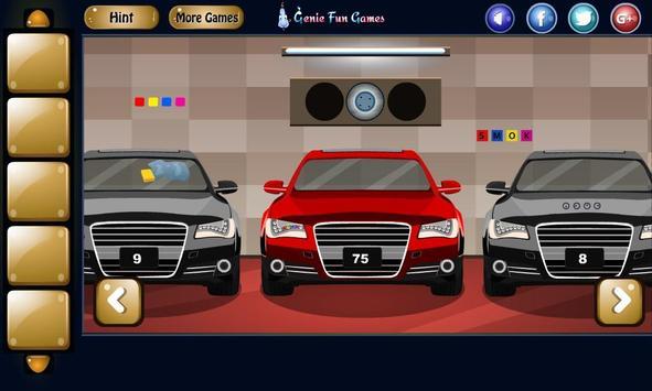 Modern Car Garage Escape poster