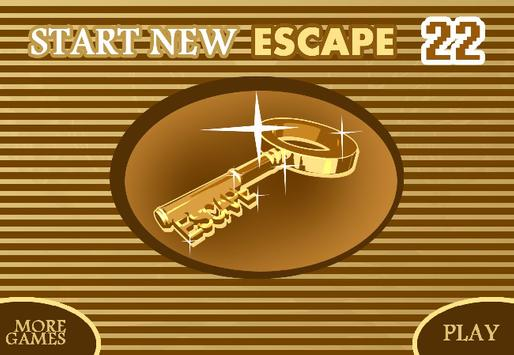 START NEW ESCAPE 022 poster
