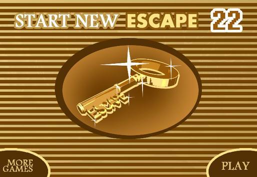 START NEW ESCAPE 022 apk screenshot